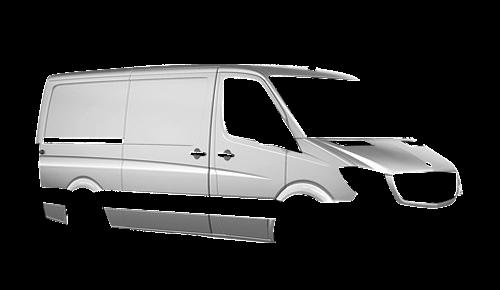 Цвета кузова Sprinter Furgon (NCV3)